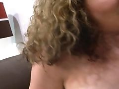 With Gigantic Hooters Shows Her Love Box To Lucky Stud Before He Fucks Her Love Box