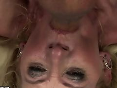 Matures Is Never Enough And Takes Dick In Her Liberate Back Yard Over And Over Again