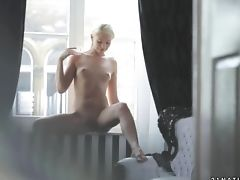 Nubile Seductress Has Fire In Her Eyes As She Grinds Her Fuck Fuck Hole