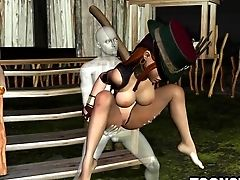 Huge-chested 3 Dimensional Stunner Getting Fucked Hard By A Ghost