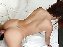 Black-haired Roge Ferro Has A Nice Time Dildoing Her Butt