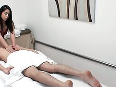 Oriental With Big Booty Loves Getting Her Crevice Banged Interracially By Hot Man