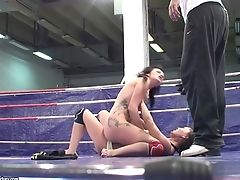 Sexy Wrestlers Lexi Ward And Selina Get Nude
