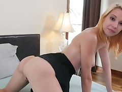 Delicious Bitch Cece Capella Is Pleasing Her Labia With Thumbs