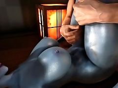 Sexy Succubus With Big Tits Fucked By Big Penis - Skyrim Pornography Point Of View