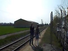Two Bahnhofschlampen