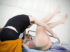 Red-haired Monique Alexander With Big Hooters Is So Raw And So Horny That Fucks With Danny D Like A Hump Crazed Animal