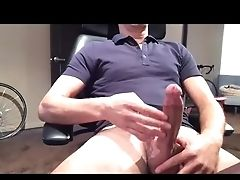 Jerking Hot Big Dick