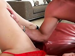 Brown-haired Kodi Gamble Truly Loves Pulsating Snake Fucking Her Anxious Forearms