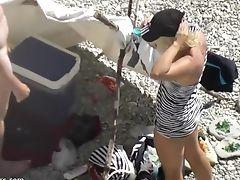 Crazy Inexperienced Vid With Peep Freak, Beach Scenes