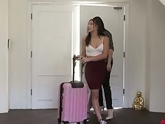 Appetizing Buxomy Sapphic Stunner Abella Danger Can Think Only About Intercourse