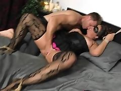 Masked Mummy Madisin Lee Gets Fucked Hard On The Couch