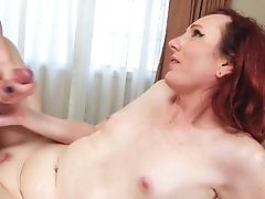 Leaned Over Tranny Plowed By Girl/girl Transsexual Honey