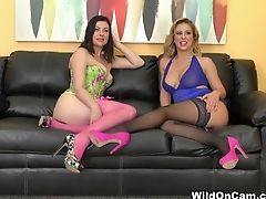 Horny Superstars Cherie Deville, Sovereign Syre In Amazing Stockings, Cuni Porno Movie