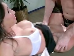 Elegant Stephani Moretti Gets Fucked By Her Manager