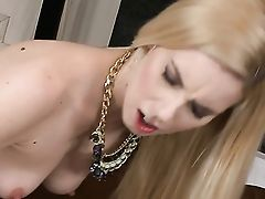 Blonde Finds It Arousing To Be Jism Soaked